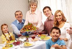 Aile yemeğinin önemi büyük