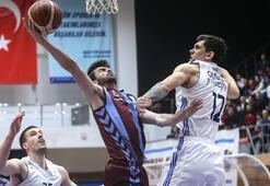 İstanbul Büyükşehir  Belediyespor: 92 - Trabzonspor: 100