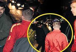 Gazeteci döven Podolski davalık oldu
