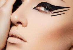 En zor makyaj malzemesi eyeliner