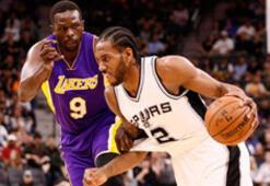 San Antonio Spursten Los Angeles Lakersa 40 sayı fark