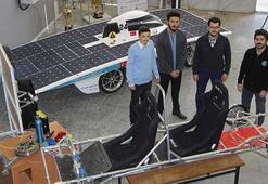 Hidrojenle çalışan otomobilin motorunu jantın içine sığdırdılar