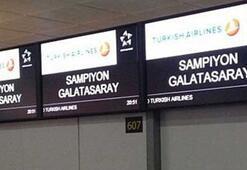 Galatasaray yurda döndü Sürpriz...