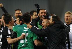 Beşiktaş derbi zaferiyle zirvedeki yerini korudu