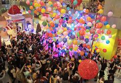Çocuklara özel yılbaşı partisi