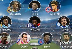 İşte Şampiyonlar Ligi gruplarının en iyi 11