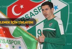 Bursaspor, Bogdan Stancu ile 2.5 yıllık sözleşme imzaladı