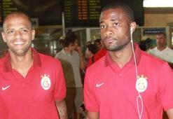 Galatasaray kafilesi Kayseriye gitti