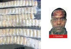 Yasaklı yolcudan 88 kapsül kokain çıktı