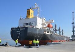 Karasu Limanından ilk ihracat gerçekleştirildi