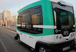 Pariste şoförsüz otobüs dönemi