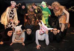 Çocuklar tiyatro ve atölye etkinlikleri ile eğlenecek