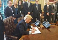 Obamanın üç kez veto ettiği projeyi Trump onayladı