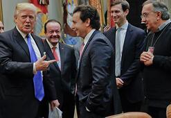 Trump otomotiv liderleriyle görüştü