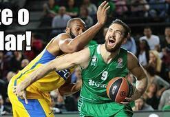Darüşşafaka-Maccabi Fox Tel Aviv maçında skandal Bilerek basket atmadılar...
