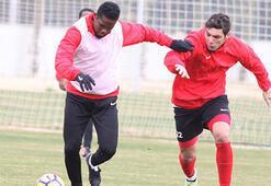 Antalyasporda neşeli antrenman