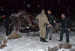 Şanlıurfada feci kaza: 4 ölü, 1 yaralı