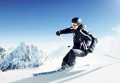 15 dakikada uçaktan kayağa