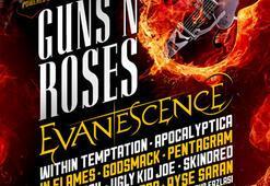Guns'N'Roses ve Evanescence geliyor...