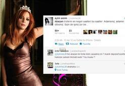 Aylin Aslımın abazan çıkışı twitterı karıştırdı