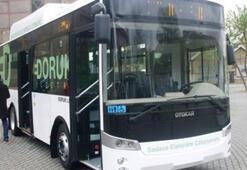 Türkiyenin ilk elektrikli otobüsü geliyor