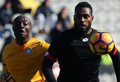 Gençlerbirliği - Osmanlıspor: 1-1