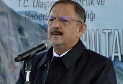 Bakan Özhaseki: Vatandaşlara evlerine girmemeleri için yalvardım ama...