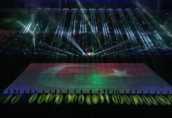 Timsah Arenada muhteşem açılış