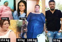 Obezitenin pençesinden kurtulanlar