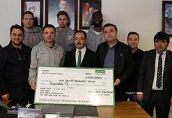 Uşak Belediyesinden Muratbey Uşaka destek