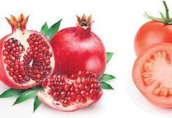 Kısırlığa  karşı domates ve nar