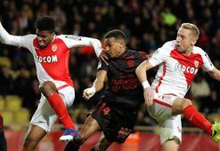 Ligue 1de lider Monaco, takipçisi Nicei 3-0 yendi