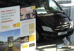 Mercedes sürücülerinden Shell Rimulaya tam not