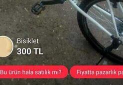 Ücretsiz dağıtılan bisikletler internette satışa çıkarıldı