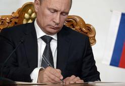 Son Dakika: Putin, Türk Akımı projesine onay verdi