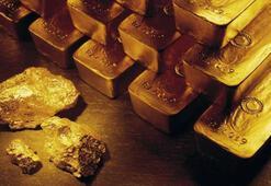 Makatından külçe altın çıktı