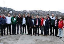 Antalyaspor ve Konyaspor dostluk yemeğinde buluştu