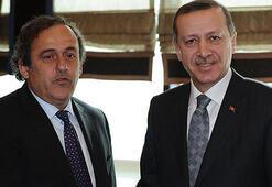 Erdoğan ve Platininin görüşmesinden ilginç detay