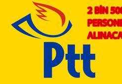 PTT personel alımları başladı mı (PTT iş başvurusu şartları)