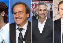 Raul, Platini, Lineker ve Cüneyt Tanman hiç kırmızı kart görmedi