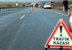 Artvinde trafik kazası: 1 ölü, 5 yaralı