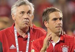 Ancelotti, Lahmın emekliliğinden memnun değil