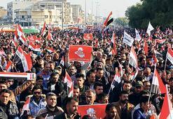Irak'ta Sadr yanlısı dev protesto