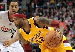 Portland Trail Blazers, Cleveland Cavaliersa 29 sayı fark attı