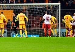Galatasaray - Kayserispor: 1-2 / İşte maçın özeti