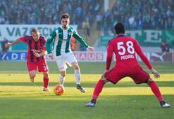Bursaspor-Mersin İdmanyurdu maçından kareler