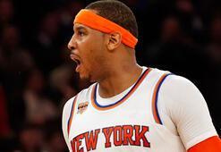 Knicksin yıldızı Carmelo, NBAin en skorer 25. oyuncusu oldu