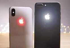 iPhone X ve iPhone 8e parlayan Apple logosu nasıl eklenir
