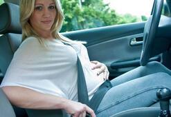 Hamilelere özel emniyet kemeri