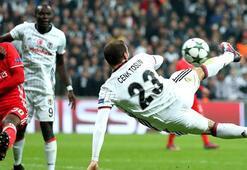 Cenk Tosunun Benficaya attığı gol En heyecan verici gol seçildi